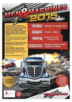 Men & Machines 2015 -=Cars, Bikes, Jets, Trucks and much more=- Cobbitty Camden Area Preview