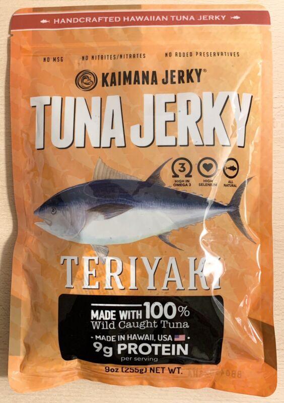 Kaimana Tuna Jerky - Teriyaki - 9oz.