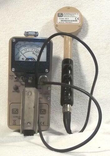 Ludlum Model 3 Survey Meter with Model 44-9 Pancake Probe Frisker Frisking
