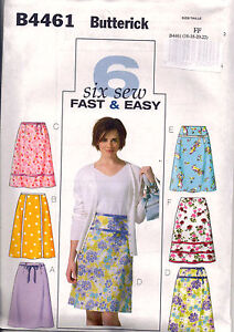 From UK Sewing Pattern Skirts Skirt 16-22 #4461