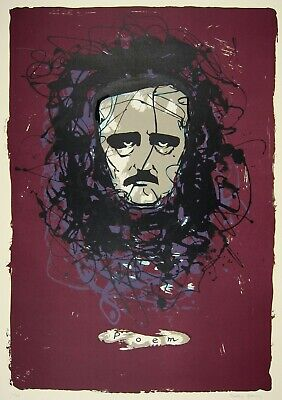 """DOROTHEA TANNING - 1987 Hand Signed Color Lithograph - """"Poem"""""""