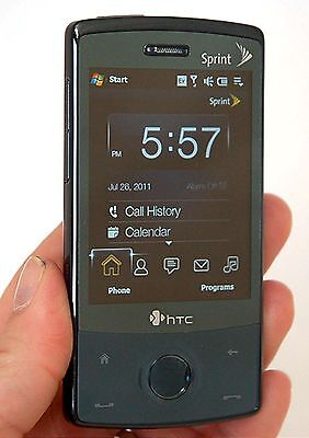 HTC XV6950 Touch Diamond Sprint Network CDMA Smart Phone Cell Windows Mobile -