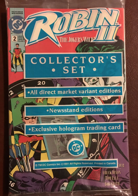ROBIN II~2~#2~COLLECTOR'S SET~FACTORY SEALED~INCLUDES HOLOGRAM TRADING CARD~