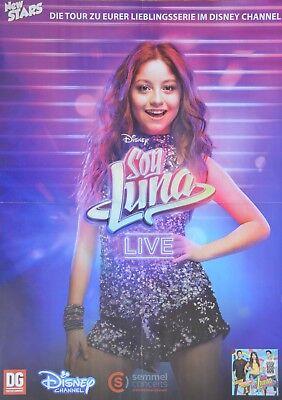 SOY LUNA - A2 Poster (XL - 42 x 55 cm) - Karol Sevilla Clippings Fan Sammlung