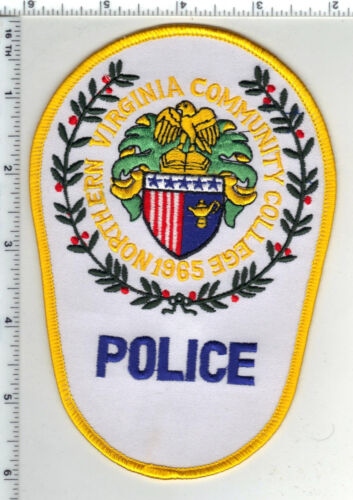 Northern Virginia University Police 1st Issue Shoulder Patch