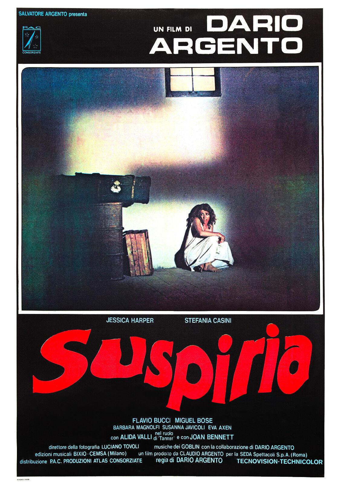 Suspiria (1977) Movie Poster Dario Argento | eBay