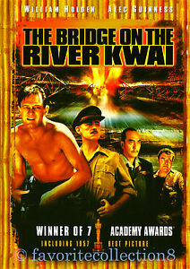 The Bridge on the River Kwai (1957) - William Holden, Alec Guinness - DVD NEW