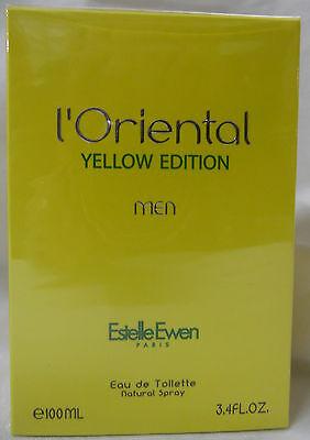 Купить L'ORIENTAL YELLOW EDITION Estelle EWEN PARIS 3.4 OZ 100 ML SEALED FOR MEN SPRAY