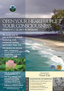 Two day workshop: Open your heart & Uplift your consciousness Nathan Brisbane South West Preview