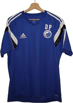 2014 COPENHAGEN FC Football SHIRT Jersey ADIDAS size L Tricot Camiseta DENMARK image