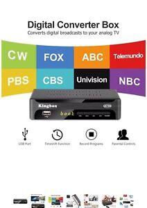Brand new Kingbox Digital TV Converter Box for Analog TV