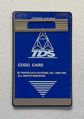 Tds Cogo Survey Card For Hp 48gx Calculators