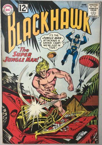 BLACKHAWK COMIC #173 (DC,1962) SILVER AGE ~