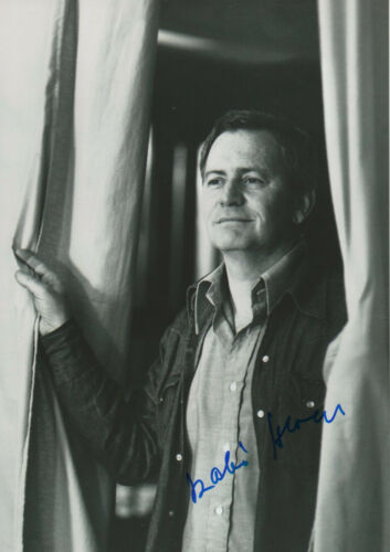 Lovely Donald Mcintyre Opera Signed 8x12 Inch Photo Autograph Entertainment Memorabilia Autographs-original