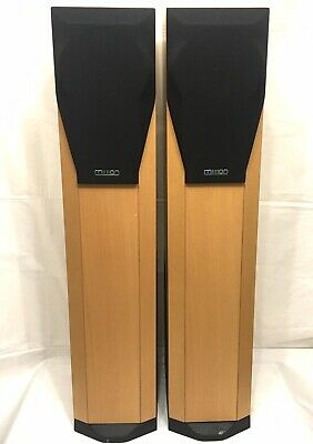 Mission 782 Floorstanding High-End 3-Way Reflex Speakers Made In England (Pair) High End Floor Standing Speaker