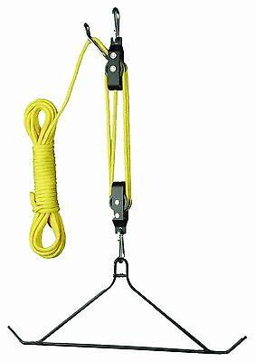 Hunters Specialties Mag Lift System with Gambrel 600 lb Deer Game Hoist Hanger