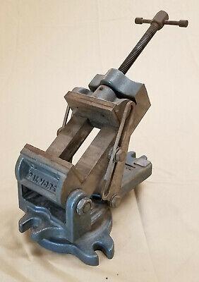Palmgren Vise Tilting Angle Swivel Base Drill Press Milling Machinist Av-24-1