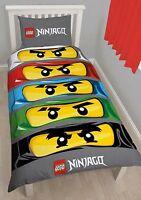 Lego Ninjago Orificios Ladrillos Funda Edredón Individual Niños -  - ebay.es