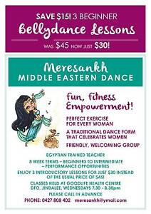 BELLY DANCE CLASSES. Jindalee Brisbane South West Preview