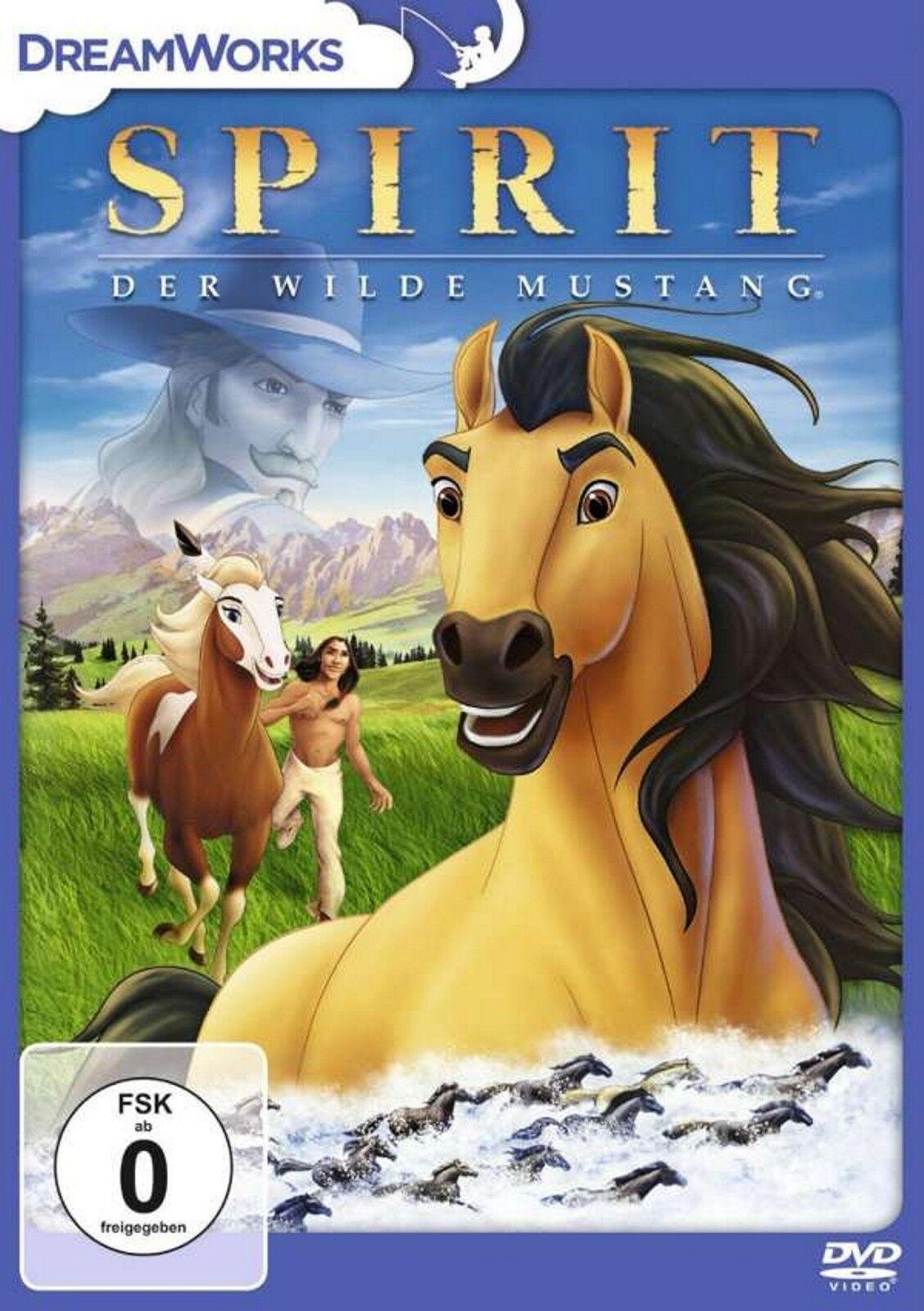 Spirit Der wilde Mustang - DVD - OVP - NEU