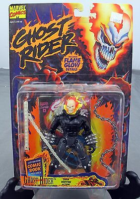 Marvel Comics 6'' Ghost Rider Chain Whipping Action Figure 1995 ToyBiz NEW