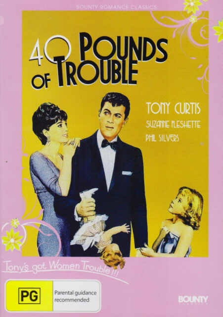 40 Pounds of Trouble (1962) DVD-Tony Curtis-Phil Silvers-Suzanne Pleshette