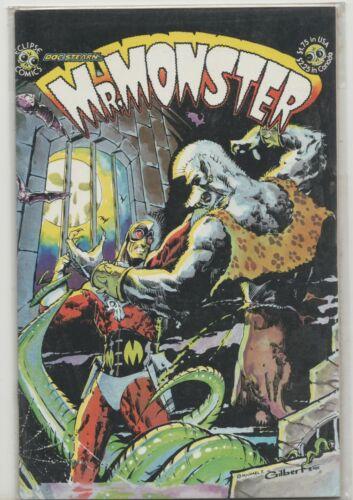 Mr. Monster #1 Eclipse Comic 1985 Volume 1 BIN