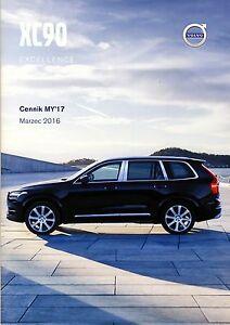 Volvo XC90 Excellence 03 / 2016 catalogue brochure limited edition Sondermodell - <span itemprop='availableAtOrFrom'> Varsovie, Polska</span> - Volvo XC90 Excellence 03 / 2016 catalogue brochure limited edition Sondermodell -  Varsovie, Polska