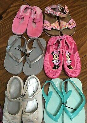 Girls Size 11 Summer Shoe Lot
