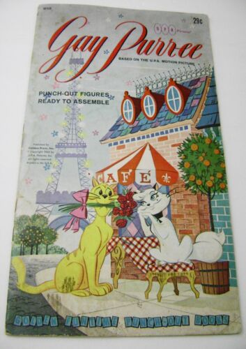 VTG PAPER TOY DOLLS 1962 GAY PURR-EE GOLDEN FUNTIME PUNCH BOOK UNUSED!!! giant