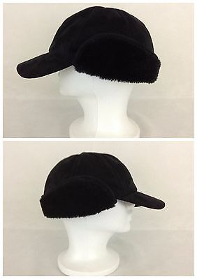 0abed4fee8096 Winter Hat Size M L Coleman Black Trapper Hat Polyester Acrylic