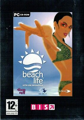 BEACH LIFE Vita da spiaggia - PC - ITALIANO - Nuovo! - idea regalo! Raro - Beach Game Ideas