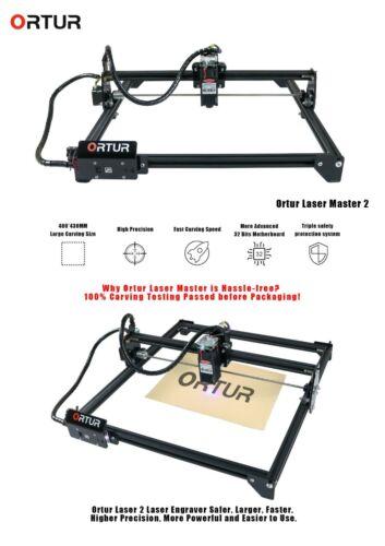ORTUR Laser Master 2 7W/15W/20W - Laser Engraving and Cutting Machine