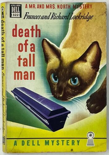 Death of a Tall Man, Mr & Mrs North Mystery Collectible Paperback C 1950