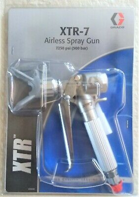 Airless Spray Gun Xtr-7 7250 Psi By Graco New In Package