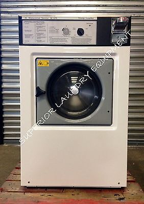 Wascomat 35lb Washer W125 Coin 220v3ph White Reconditioned