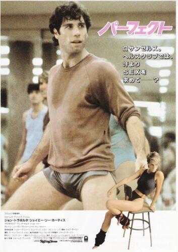 PERFECT:John Travolta-Original Japanese  Mini Poster Chirash A