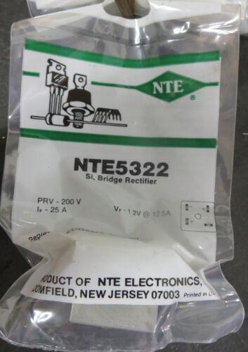 NTE Electronics NTE5322 Bridge Rectifier