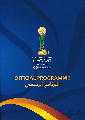 FIFA CLUB WORLD CUP 2017 Officlal Tournament Programme