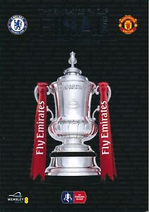 FA CUP FINAL PROGRAMME 2018 Chelsea v Manchester United