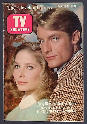 PERRY KING~DEBORAH RAFFIN~THE LAST COMVERTIBLE~CLEVELAND TV SHOWTIME GUIDE