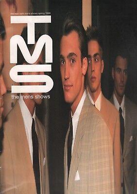 TSM The Mens Show Spring 1998 New York Fashion Magazine 7th on Sixth 052318DBF