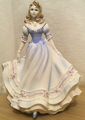 Coalport & Danbury Mint Age Of Romance Collection First Love Figurine