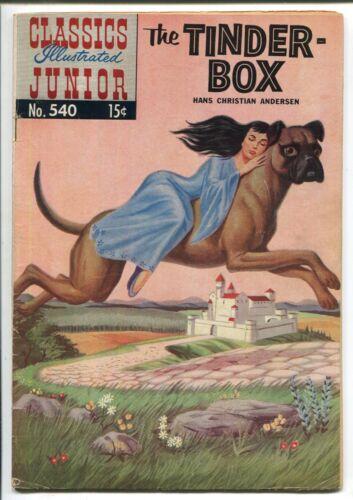 CLASSICS ILLUSTRATED JUNIOR #540 - THE TINDER-BOX - HRN 559