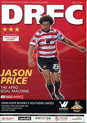 B39 Doncaster Rovers v Southend United 29/12/07 League 1