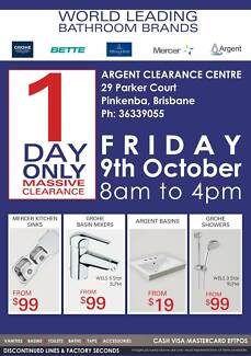 HUB Bathroom Accessories by Argent Pinkenba Brisbane North East Preview