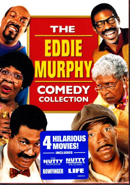 EDDIE MURPHY COMEDY COLLECTION NUTTY PROFESSOR BOWFINGER LIFE R1