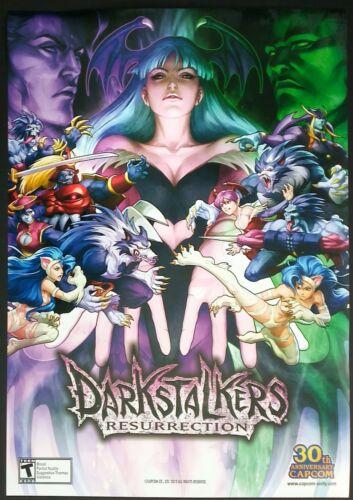 Artgerm Darkstalkers Resurrection Capcom Promo Art Print - Mint