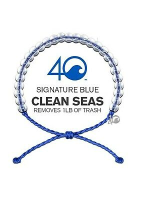 4OCEAN BRACELET ORIGINAL SIGNATURE BLUE. STICKER INCLUDED!