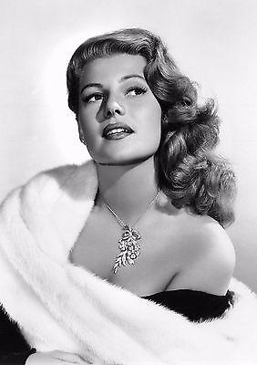Rita Hayworth Hot PHOTO Love Goddess Pin-up Girl Actress, Sexy Publicity Pic